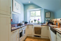 Fully-equipped kitchen makes self-catering easy.